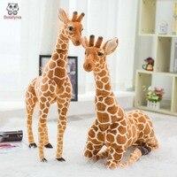 Bolafynia Детская плюшевая мягкая игрушка имитация жирафа украшение плюшевая детская игрушка на Рождество подарок на день рождения