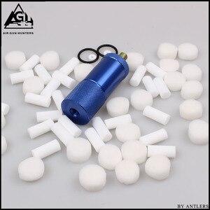 Image 4 - Bomba de mano PCP de alta presión 4500ps separador de aceite y agua con manguera, conector hembra y macho, tanque de aire pcp M10 * 1 set