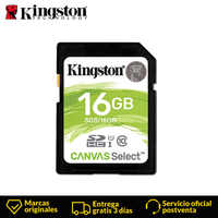 Kingston Canvas Select Class 10 SD Memory card 16GB MicroSDHC Micro SD Card UHS-I for full HD photograping 80MB/s Read speed