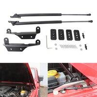 For Jeep Wrangle JL JLU Front Hood Lift Support Shock Rod 2 Pcs Car Gas Lift Support Struts Shock Damper Bars 2018 2019