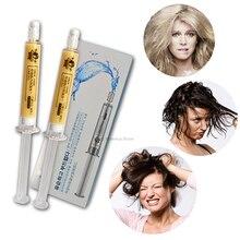 2 шт./компл. маска для волос Глубокое восстановление поврежденных Keratin Repair лечение увлажняющий уход за волосами 3 стиля