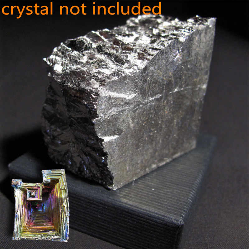 500g  High Purity 99.99% Bismuth Bi Metal Lumps Ingot 1000g High Pure Bismuth