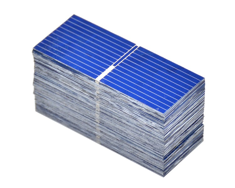 100pcs 52*19mm Solar Panels Painel Polycrystalline Silicon solar cells For DIY Charging experiment testing 10