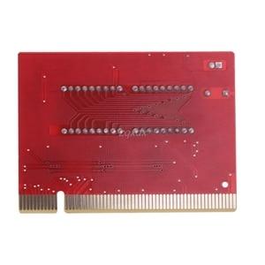 Image 4 - 新しいコンピュータ pci ポストカードマザーボード led 4 桁の診断テスト pc アナライザ whosale & ドロップシップ