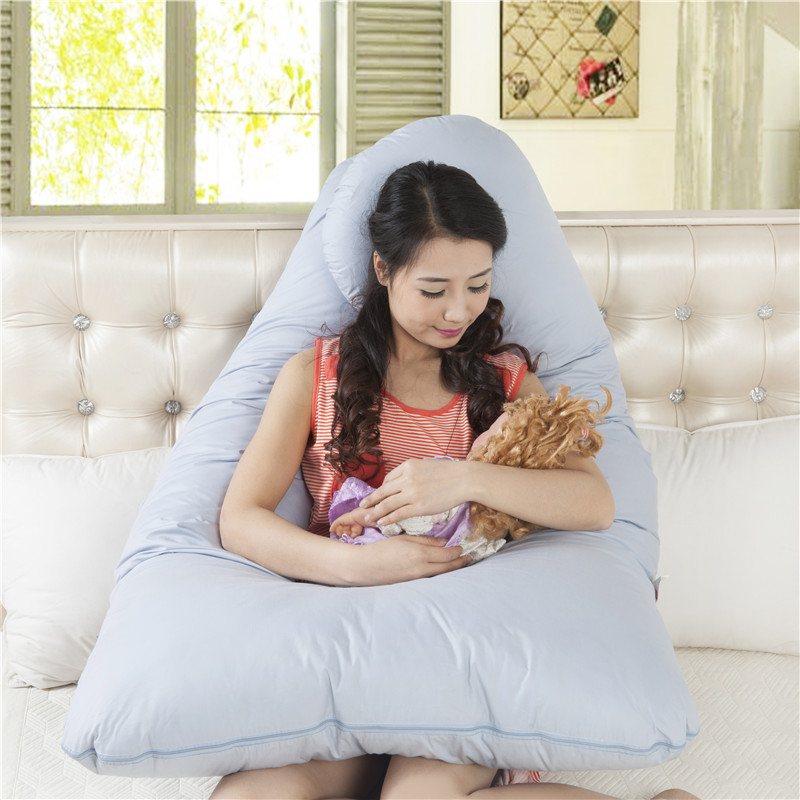 144 * 89CM Maternity U Shaped Body Pillows Multifunctional Pregnant Woman Pillow Pregnancy Pillow For Side Sleeper Long Pillow144 * 89CM Maternity U Shaped Body Pillows Multifunctional Pregnant Woman Pillow Pregnancy Pillow For Side Sleeper Long Pillow