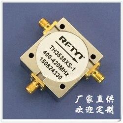 400-420MHz RF circulador coaxial aislante Unión SMA frecuencia