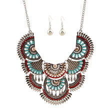 Vintage Statement Chokers Necklaces for Women Bohemian Ethnic Style Maxi Necklace Collier Femme Bijoux Turkish Jewelry