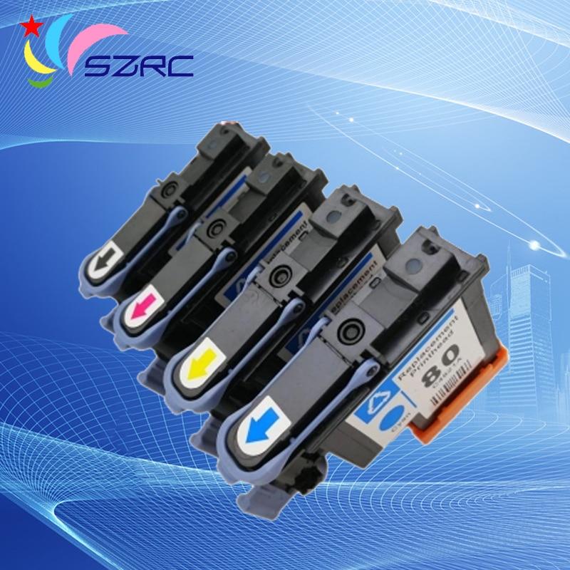 все цены на High quality C4820A C4821A C4822A C4823A Printhead Remanufactured Print Head For HP80 80 1050 1055 1000