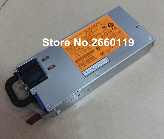 все цены на power supply for DL380 G6 DPS-750UB B HSTNS-PD22B 591554-001 591556-101 599383-001 750W, fully tested онлайн