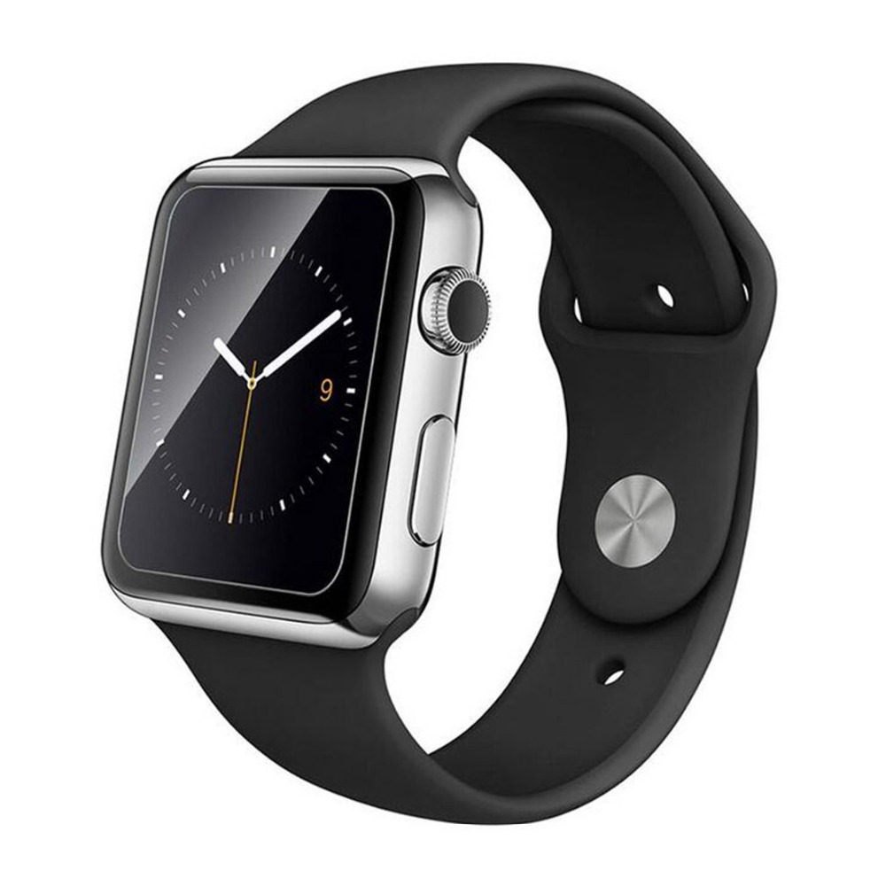 Half Tempered Glass For Apple Watch Band Apple Watch 5 4 3 44mm/40mm Iwatch 5 4 Anti-Shock Transparent  Screen Protector Film