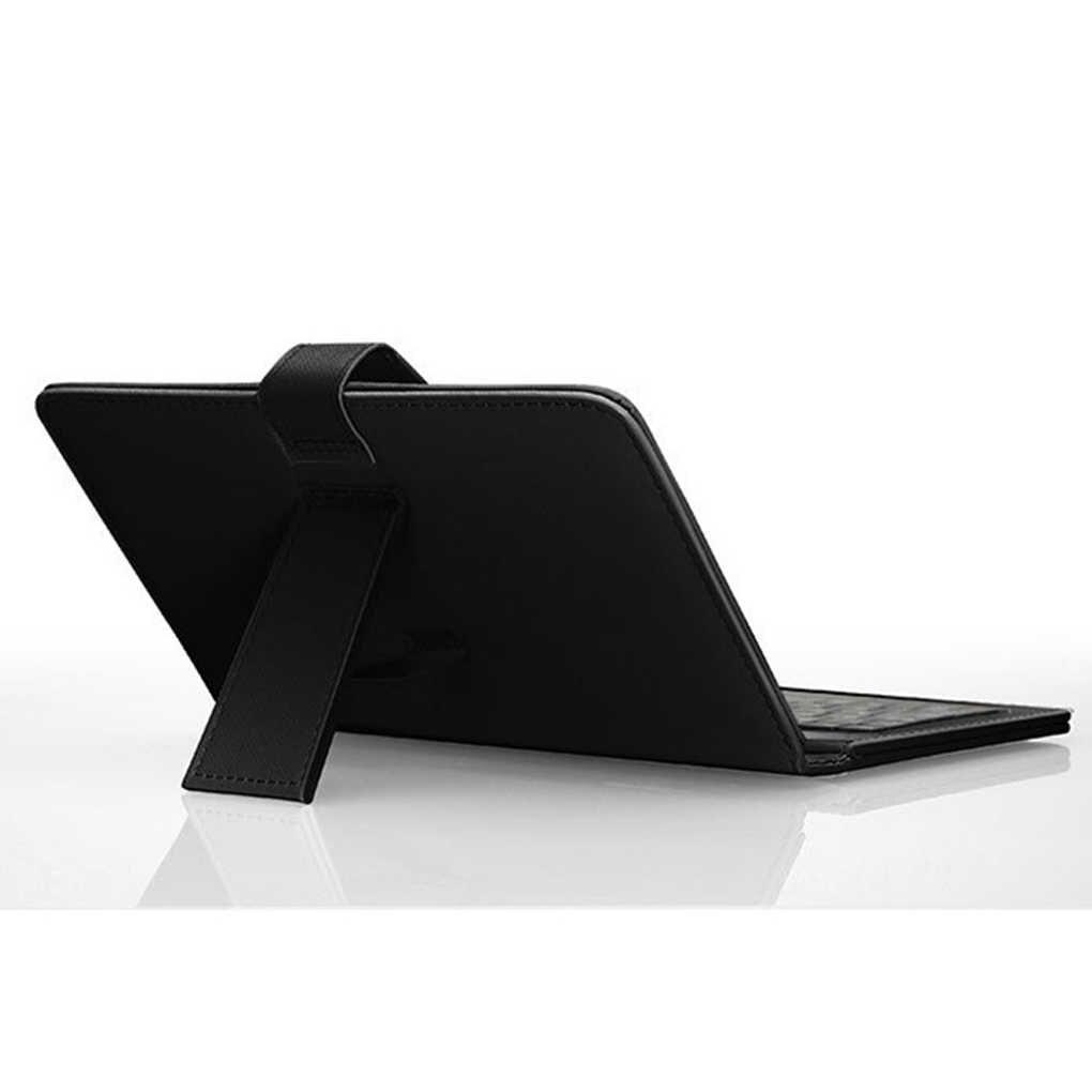 4,8-6,0 дюймовый чехол для телефона PU кожаный флип чехол Проводная клавиатура кобура универсальная защита Замена для Android