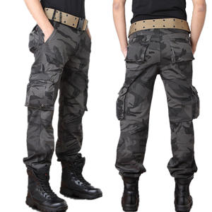 City Tactical Cargo Pants Men Combat Military Pants Cotton Many Pockets Stretch Flexible Mans Casual Army Style baggy Trousers