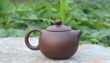 Yixing Teekanne 120 ml Geschenk tee teekanne Volle manuelle Berühmten schönheiten gehalten den topf die schönheit