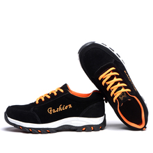 AC12001 Heavy Duty Sneakers Steel Toe Cap Work Safety Chaussure Femme Security Shoes For Mens Womens