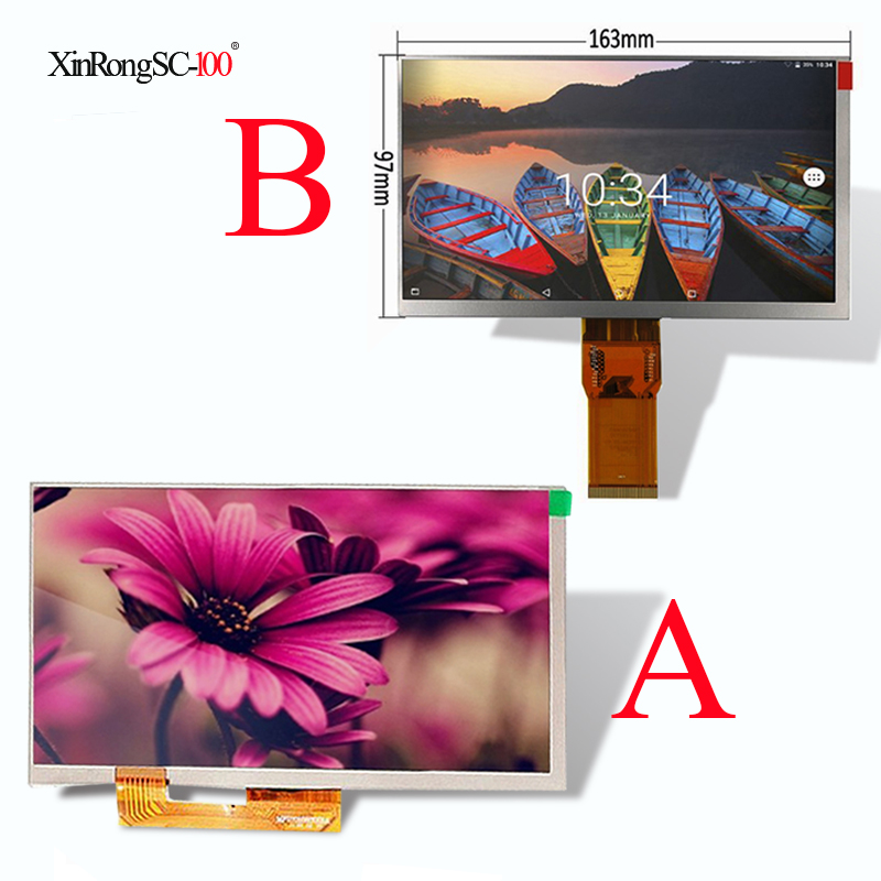 For 7 bq 7061g/7082G/7008G/7006G/7062G/7083G/7002G 3G bq-7002g bq-7061g bq-7008g Tablet LCD display Matrix Screen Panel witblue new for 7 inch bq 7061g 3g bq 7061g bq 7056g tablet touch screen digitizer touch panel glass sensor replacement