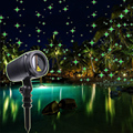 Thrisdar Volledige Sky Star Kerst Laser LED Projector Lamp Groen Outdoor LED Laser Stage Light Outdoor Tuin Gazon Starry Licht