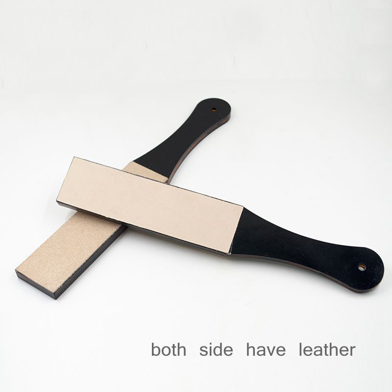 double side leather Sharpening board Polishing Knife Board Cut Leather Blade Sharpening Tool DIY Handmade Craft Accessories