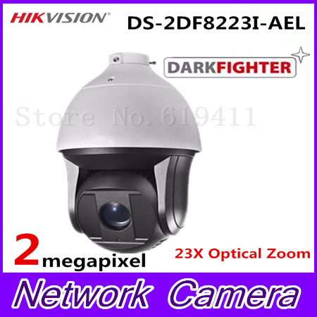 HiK English Version 2MP Ultra-low Light Smart PTZ Camera DS-2DF8223I-AEL Oudoor 23X Optical Zoom IR 200m Dome Darkfighter Camera hikvision ds 2df8223i ael english version 2mp ultra low light smart ptz camera ultra low illumination dark fighter
