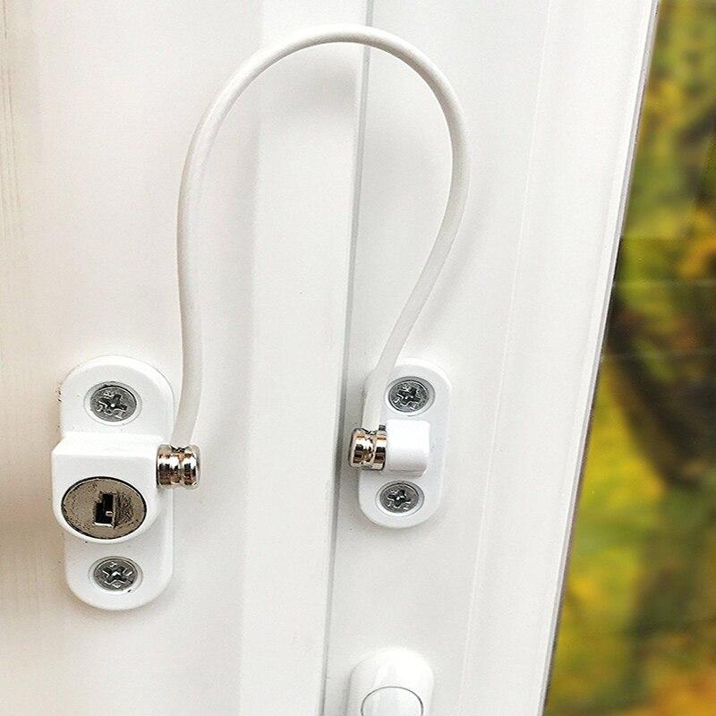 Door Window Lock Children Protection Window Restrictor Child Safety Window Stopper Portable Locks Limiter Baby Safty Accessories