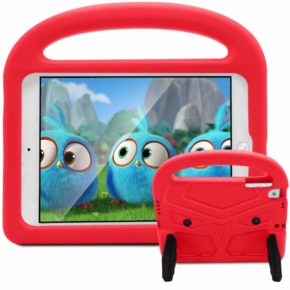 Shockproof Kids Case For New Ipad 9.7 2017 Children Handle EVA Foam Stand Cover Case For Ipad Pro 9.7 Air 1/2