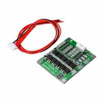 1PC New 4S 30A 14.8V Li-ion Lithium 18650 Battery BMS Packs PCB Protection Board Balance Integrated Circuits Module