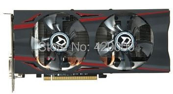 US $248 0 |DATALAND R9 270X Dual Cool 2G DC R9 270X 1060MHZ/5700MHZ  2GB/256bit GDDR5 PCI E 3 0 graphic card-in Graphics Cards from Computer &  Office