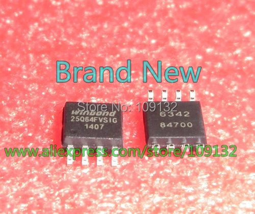US $40 0 |W25Q64FVSSIG 25Q64FVSIG 25Q64 W25Q64FV W25Q64FVSIG SPI FALSH SOIC  8PIN (208MIL) 64M bit/8M byte W25Q64-in Integrated Circuits from