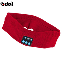 EDAL Bluetooth Music Headband Knits Sleeping Headwear Headphone Speaker Headset