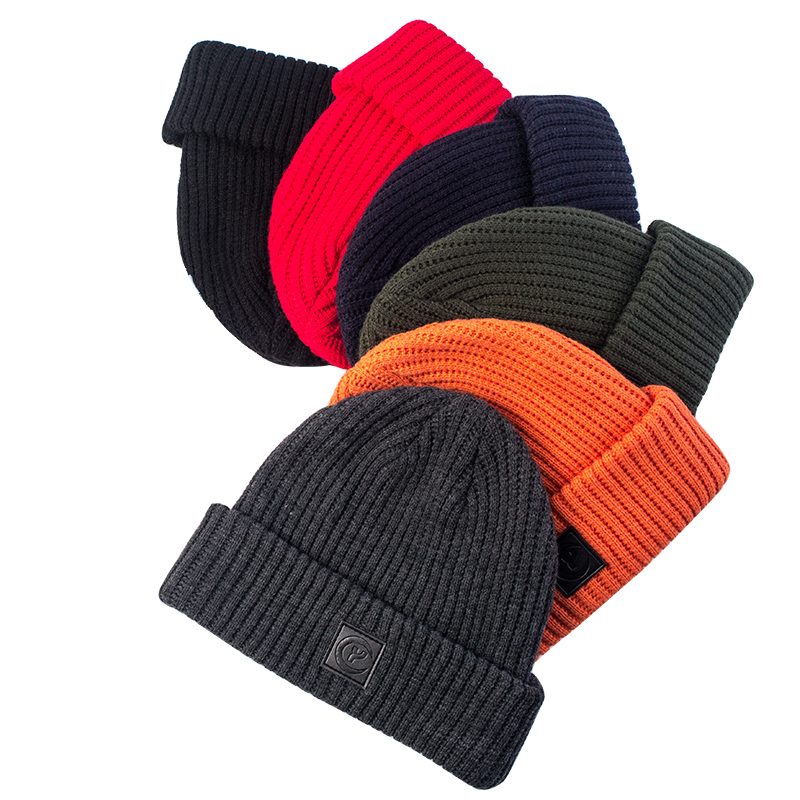 2017 fashionable solid color thick hats for unisex knitting caps spring autumn wearing warm hats #170424_x126