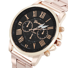 Luxury Stylish Fashion Geneva Stainless Steel Quartz Sports Dial Wrist Watch men fashion sale Hot style selling cute2