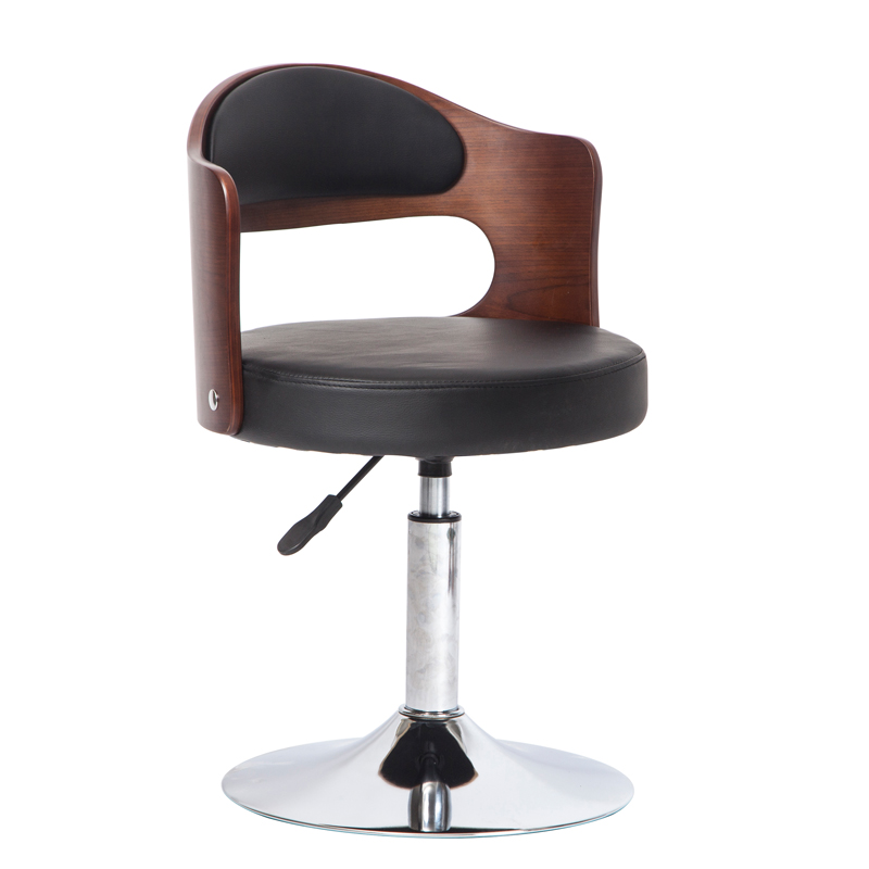 Best Quality Metal Bar Stool European Bar Stool Home Retro Backrest Lift Rotating Bar Chair High Stool Front Desk Cashier Chair