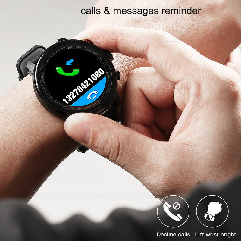 Image 5 - 2020 Hot Smart Watch IP68 Waterproof Men Smart Watch Bluetooth 