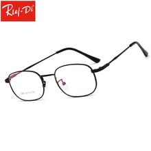 WJ201 Eyewaer óculos de Armação de Metal Homens Mulheres Retro Quadrado  Lente Óptica Lente Clara f52fa2b66d