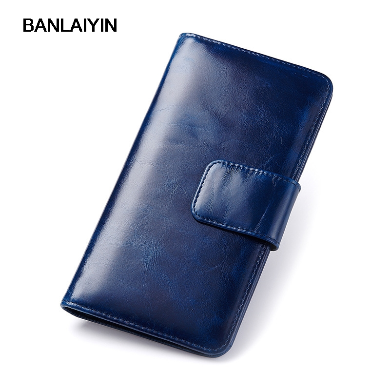 Vogue 111% Genuine Leather Women Wallets Brand Design Retro Nice Cell Phone Card Holder Long Lady Wallet Purse Clutch gl brand vogue 3colors jf0017
