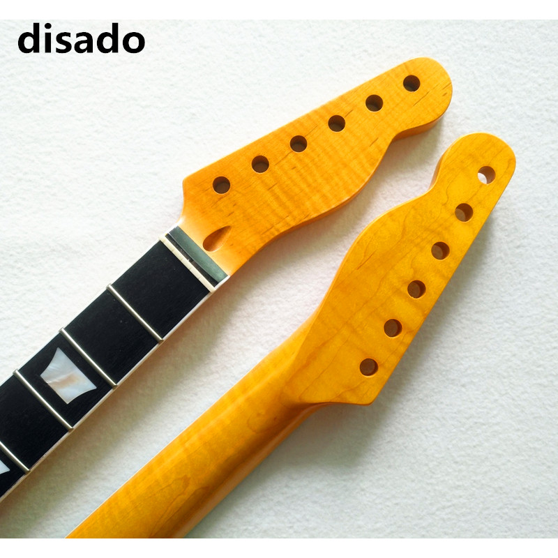 disado 21 22 24Frets Maple Electric Guitar Neck Rosewood Fretboard Glossy Paint Guitar Accessories Can Be Customized wilkinson guitar accessories st electric guitar three single coil pickup all colors can be customized real photos free shipping
