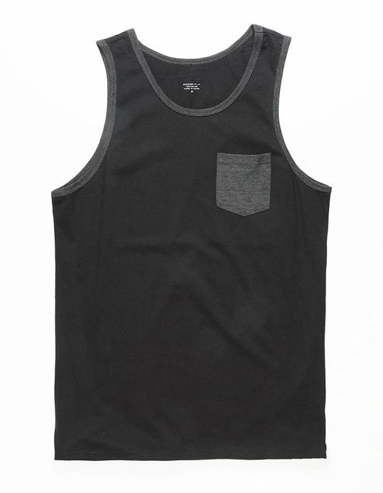 Skate Men's Black Pocket   Tank     Top   USA Size S-XXL