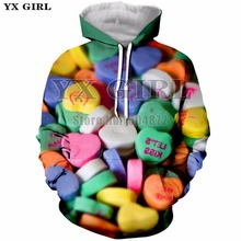 2018 New Fashion Top Hoodies For Men Women Colorful Pills 3d Printed Sweatshirt Funny Hoodie Mens Pullover Streetwear Unisex