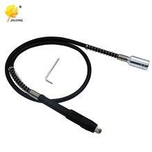 Jigong moedor rotativo flexível, ferramenta de polimento dremel eixo 110cm com