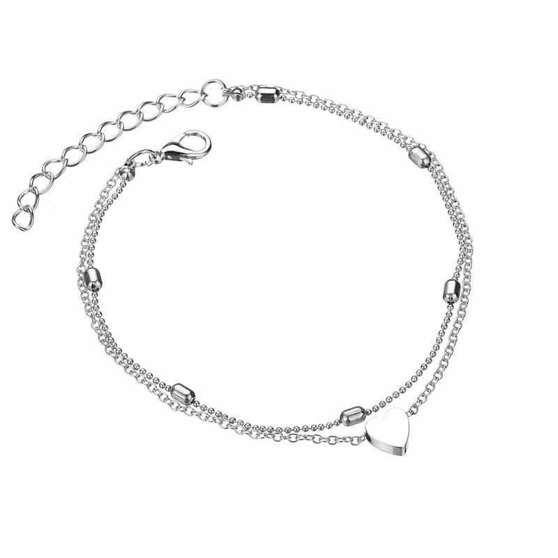 自由奔放に生きるスターインフィニティ足首のブレスレットファッション模擬真珠アンクレットサンダル 2019 新