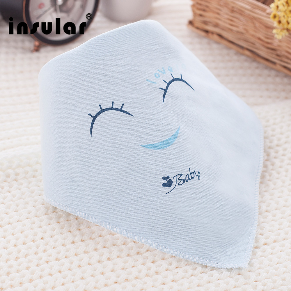 Insular Newborn Baby Bibs Soft Bib Burp Cloth For Babies Cute Girls Boys Bib Babies Clot ...