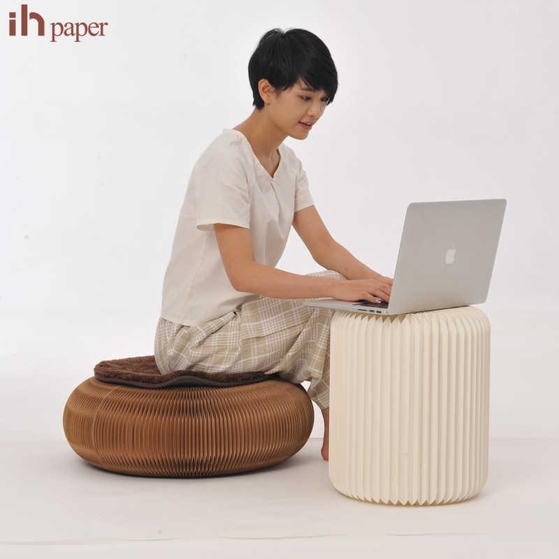 Oryginalna marka Ihpaper ekskluzywna popularna upraszcza naturalny przenośny łatwy w transporcie dom umeblowanie