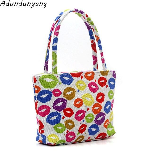 a5caf178df 2018 women lunch bag shoulder handbags shopping bag beach handbag new  fashion canvas bag wild rough twine striped beach bag
