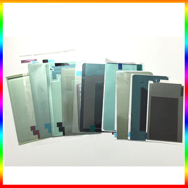 NEW Original for samsung s2/s3/s4/s5/s6/s7/s7 edge Lcd screen repair back adhesive Glue sticker strip