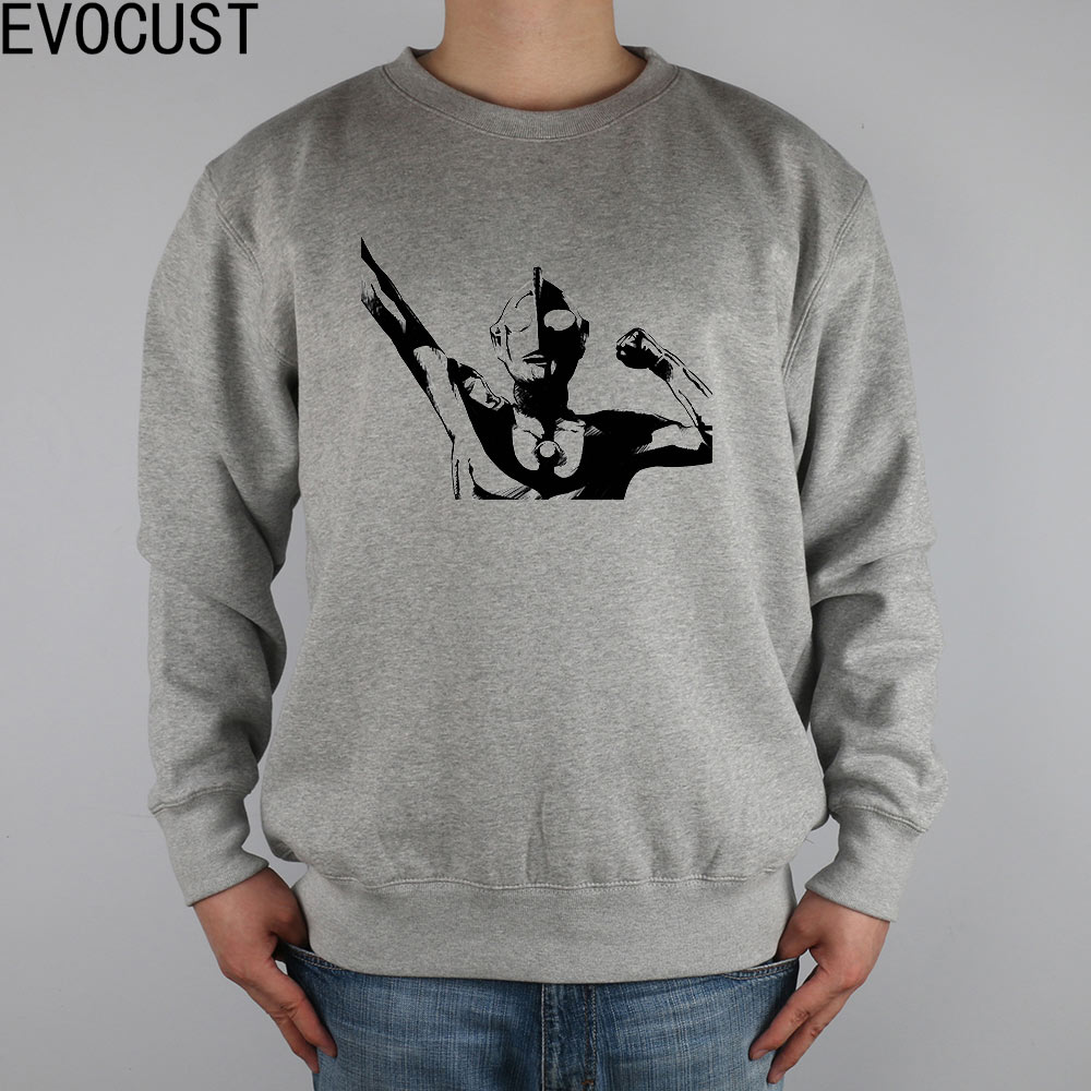 Ultraman Universe Favourites men Sweatshirts Thick Combed Cotton