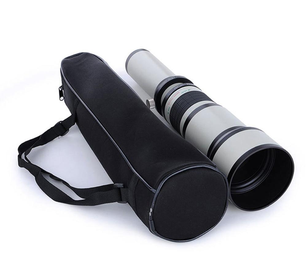 JINTU 500mm f/6.3 Téléobjectif Fixe Focale fixe + T2 Adaptateur pour Appareil Photo Canon EOS 1300D 1200D 1100D 60D 70D 80D 7D 750D 800D 5DII - 4