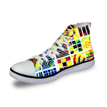 Customized Fashion High Top Canvas Shoes for Men, Spring Cas