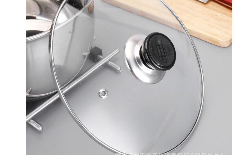 panela de aço inoxidável 1.5l-4l não magnético