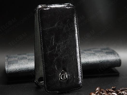 Funda para iPhone SE 5S 5 Funda de cuero genuino de lujo vintage con - Accesorios y repuestos para celulares - foto 5