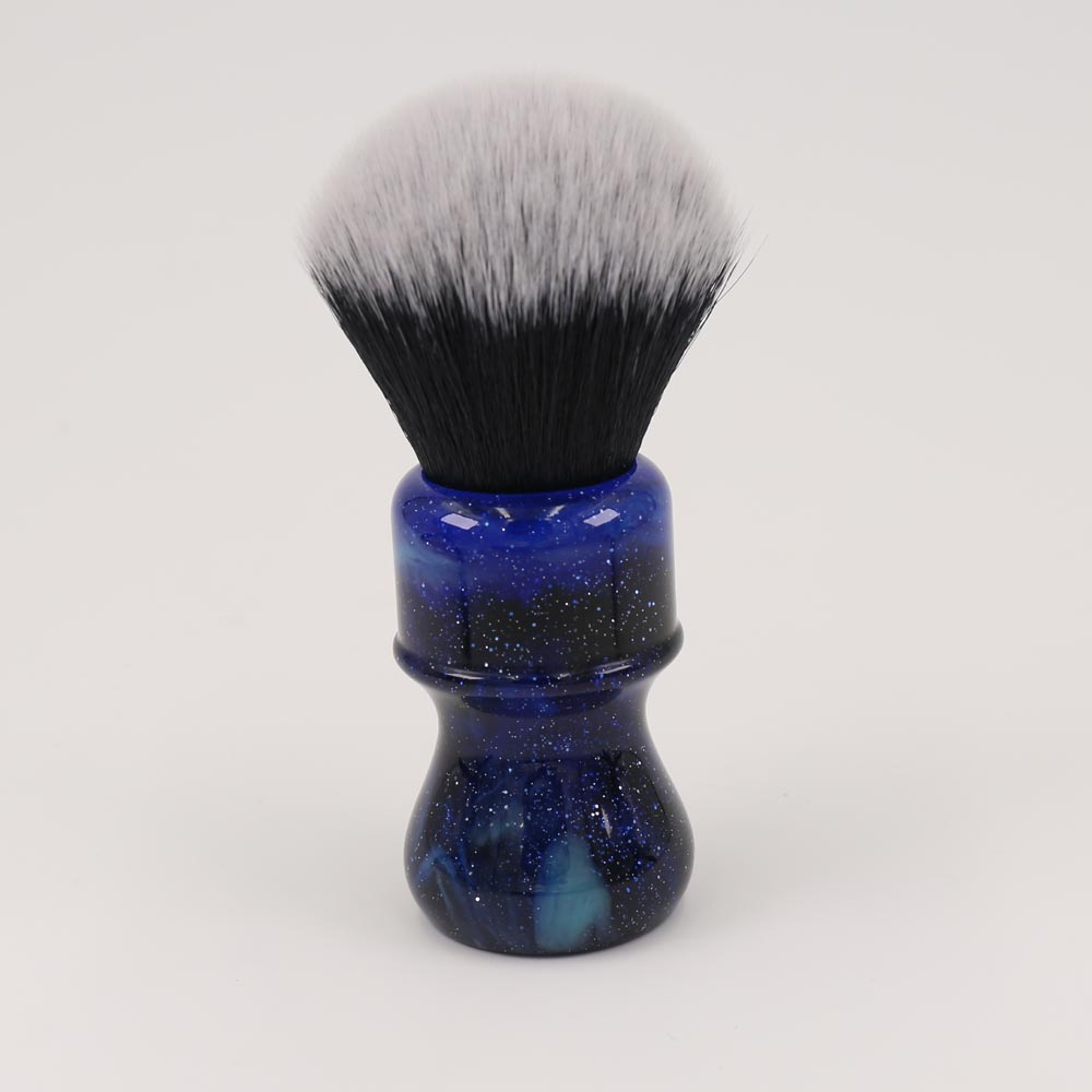 26MM Yaqi Mysterious Space Color Handle Tuxedo Knot Men Shaving Brush 1