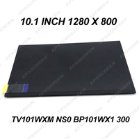 BRAND NEW 10.1 INCH DISPLAY TV101WXM NS0 BP101WX1 300 LED LCD PANEL 1280*800 SLIM screen DIY OEM LAPTOP TABLET IPS WIDEVIEW